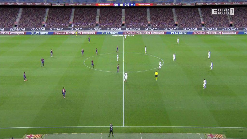 FC Barcelona - main camera angle