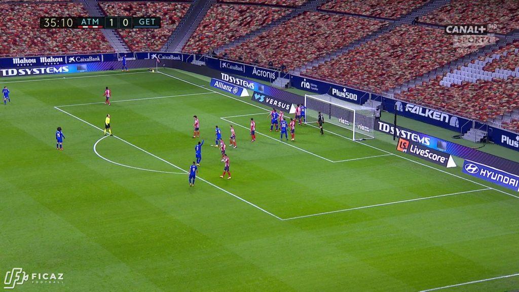 Atlético Madrid - Corner - Far