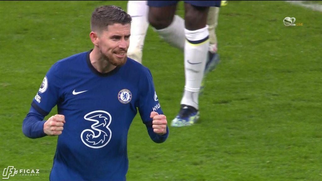 Tottenham vs Chelsea 0:1 - 2/4/2021 - Jorginho