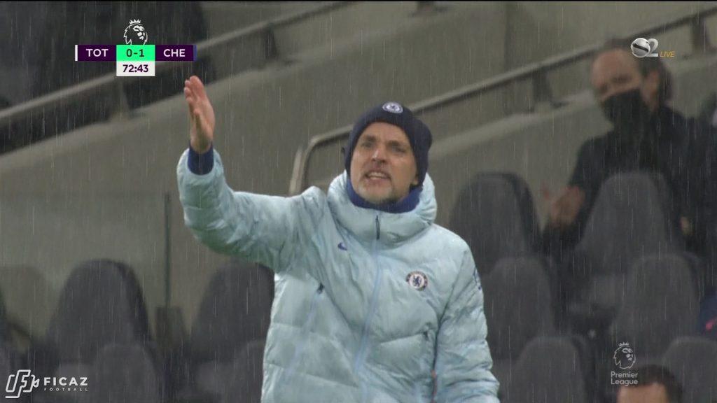 Tottenham vs Chelsea 0:1 - 2/4/2021 - Thomas Tuchel
