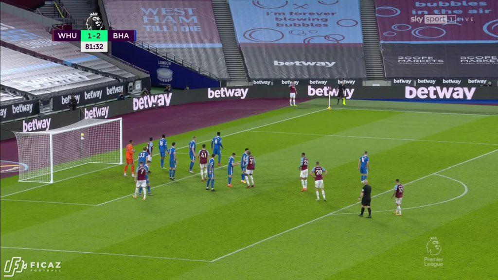 West Ham United F.C. - Corner - Far